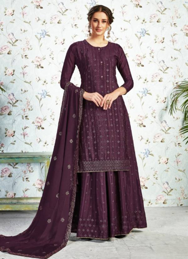 Lavisha Lavina Vol 10 Series 110001 A-110001 D Pure Chinon With Embroidery Work Festival Wear Suits Collection
