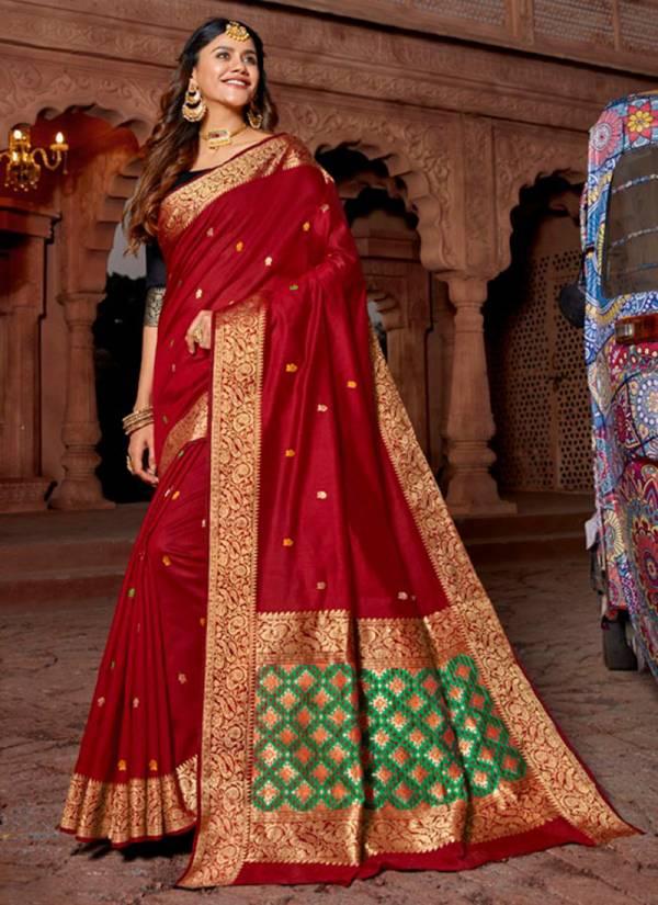 Lifestyle-Laxmi-Pushp-Series-68381-68386-Silk-Lichi-Silk-Pallu-Fancy-Treditional-Wear-Saree-Collection