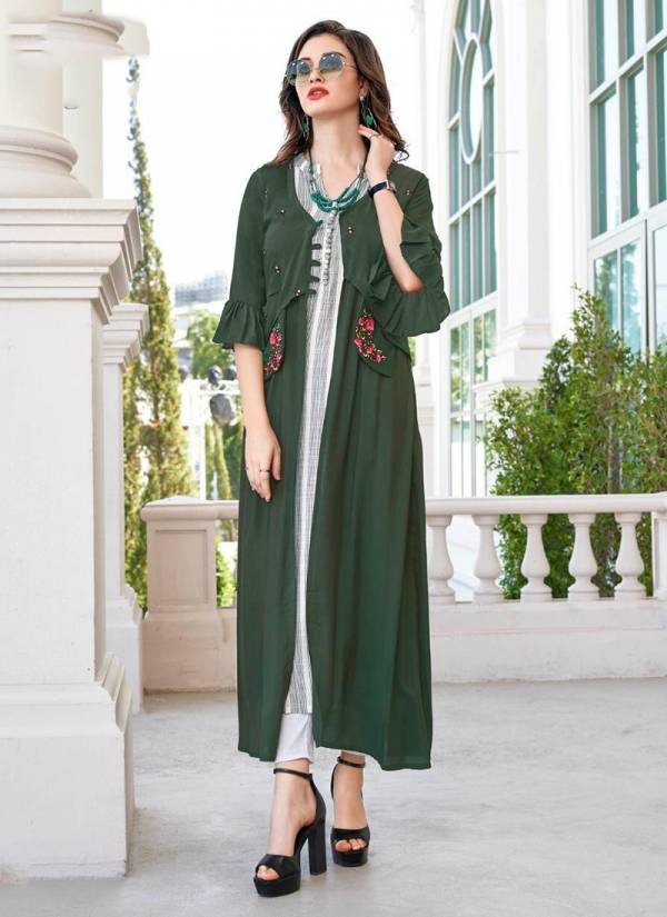 Life Style Vol 4 South Muslin Cotton With Embroidery Work Party Wear Kurti Collection 1001-1006