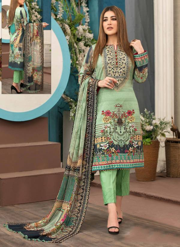 Sobia Nazir Luxury Series 21-26 Digital Heavy Cotton Printed Salwar Suits Collection