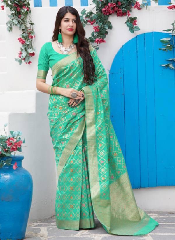 Manjubaa Mahamaya Series 3101-3106 Wedding Wera Exclusive Silk Sarees Collection