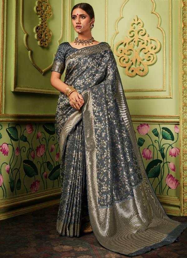 Monjolika-Fashion-Maitri-Silk-Series-2701-2706-Silk-Banarasi-Stylish-Reception-Wear-Festive-Saree-Collection