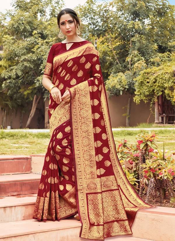 Sangam Manorama Series 1001-1006 Cotton Handloom New Designer Sarees Collection