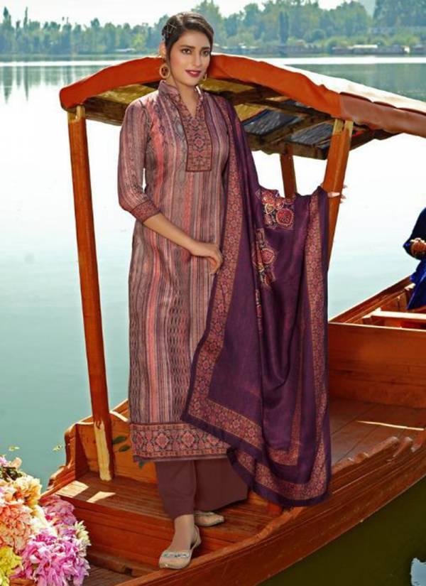 Winter Series 15201-15208 Pure Pashmina Desiner Digital Print Fancy Salwar Suits Collection