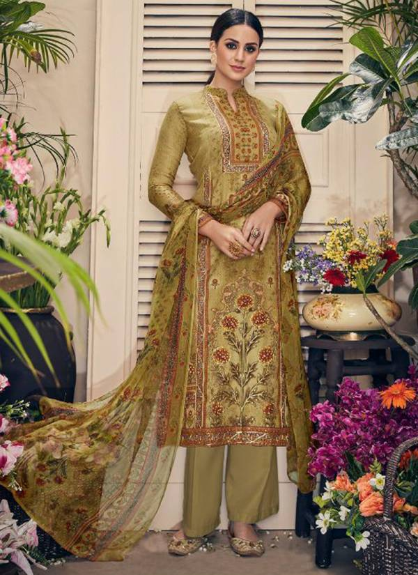 Deepsy Meenakari Series 1001-1006 Pure Pashmina Print With Embroidery & Khatli Work Suits Collection