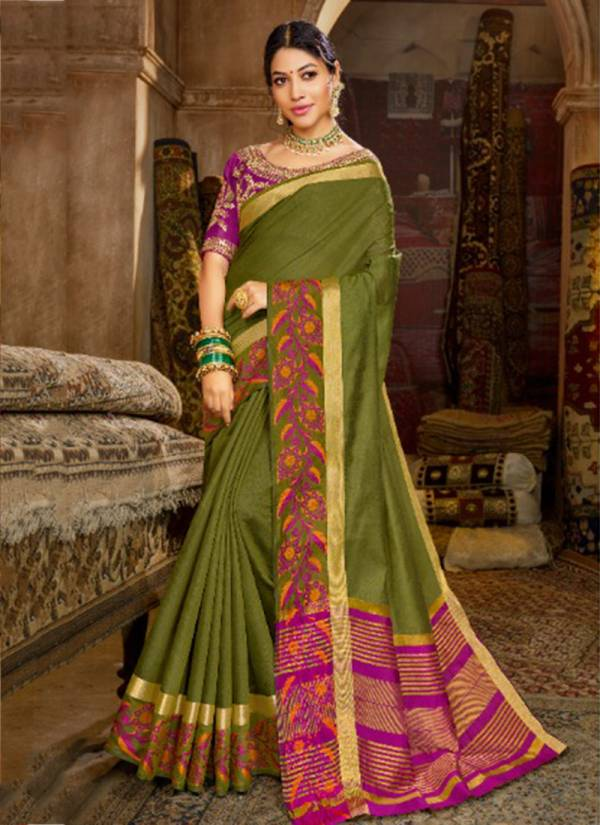 Meera Nx Vol 6 Chanderi Silk Wedding & Party Wear Sarees Collection 66481-66486