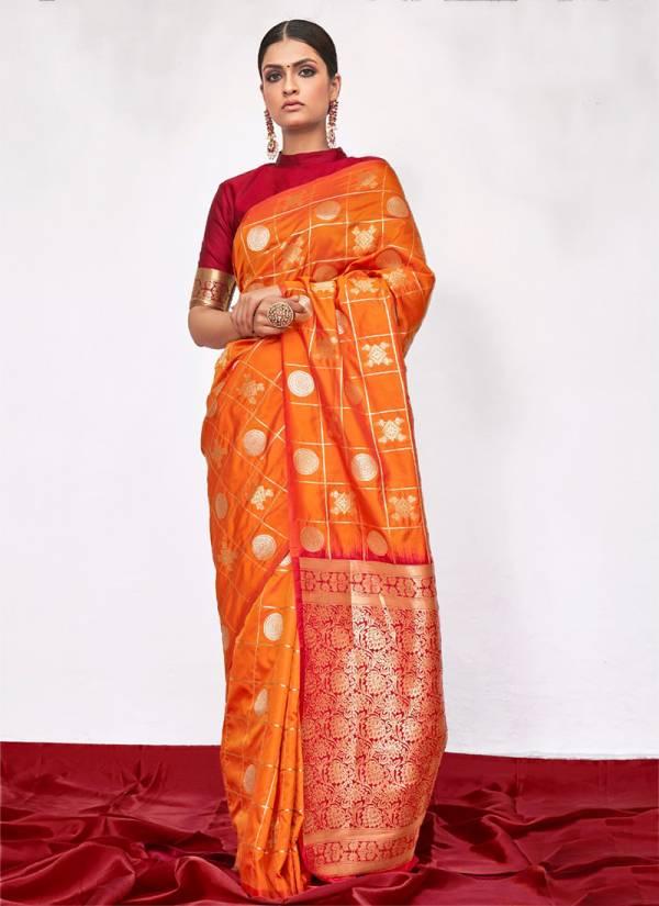 Sharngila Meghna Silk Series 30631-30636 Silk Special Festival Saree Collection