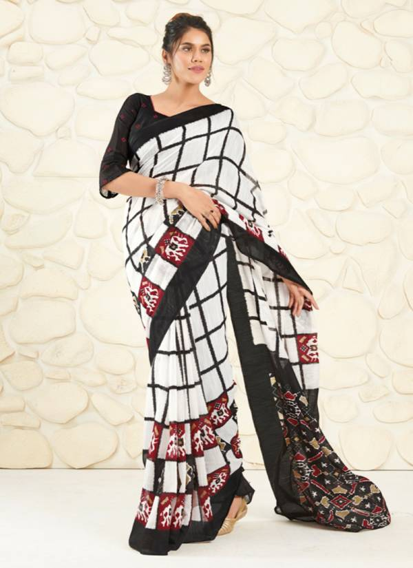 Shangrila Mulmul Series 52121-52126 Cotton Handloom Prints Collection Casual Wear Saree Collection