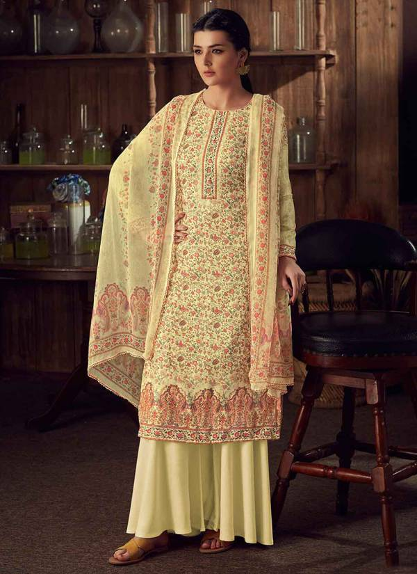 Alok Suit Mythilli Series I 656 001-I 656 008 New Design Pure Wool Pashmina Kashmiri Digital Print Regular Wear Suits Collection