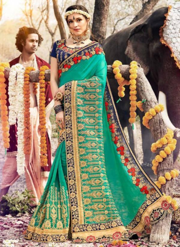 Kalista Nagma Hits Series 48501-48506 Gaga Silk,Barfi Silk & Viscose Jacquard Designer Traditional Wear Sarees Collection