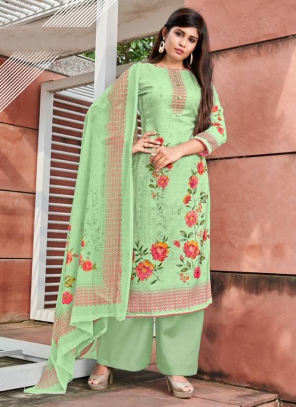 Winter 1017-1020 Woollen Pashmina Digital Print With Sequence Embroidery Work Regular Wear Suits Collection