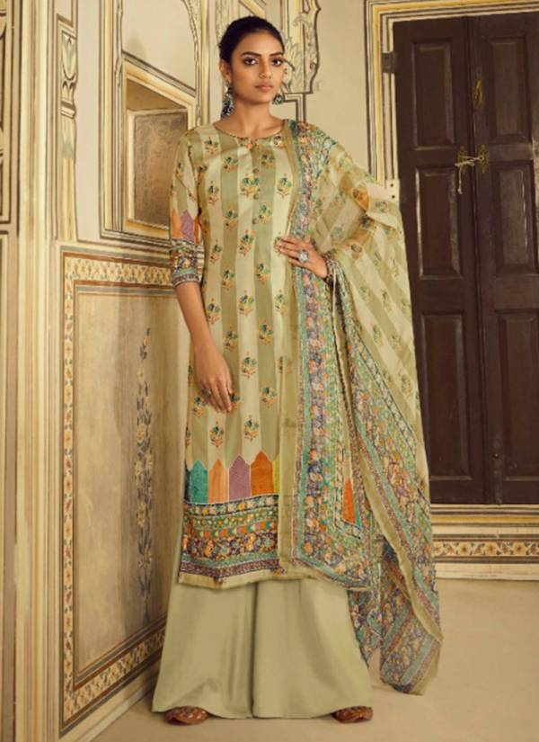 Winter Series 2808-2815 Pure Pashmina With Chiffon Dupatta Daliy Wear Suits Collection