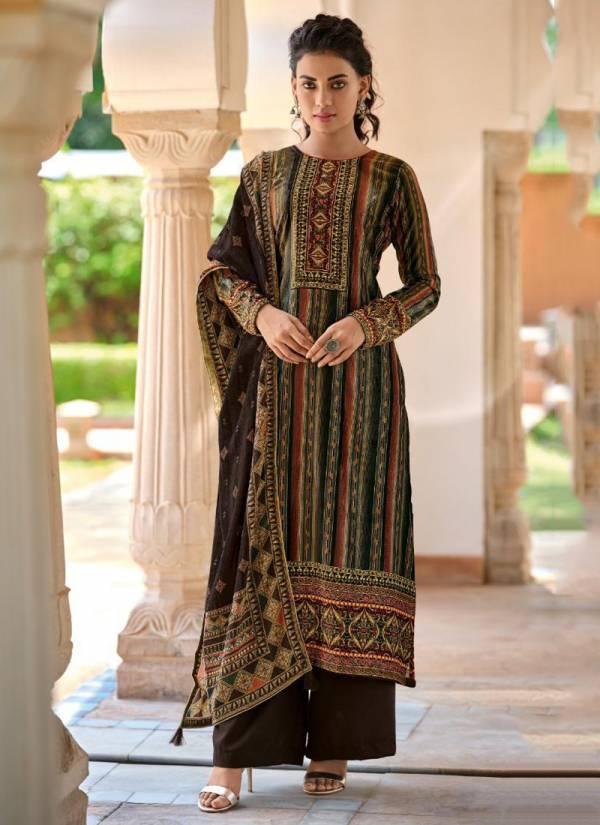 Deepsy Olivia Premium Series 75001-75006 Velvet Digital Print Stylish Look Suits Collection