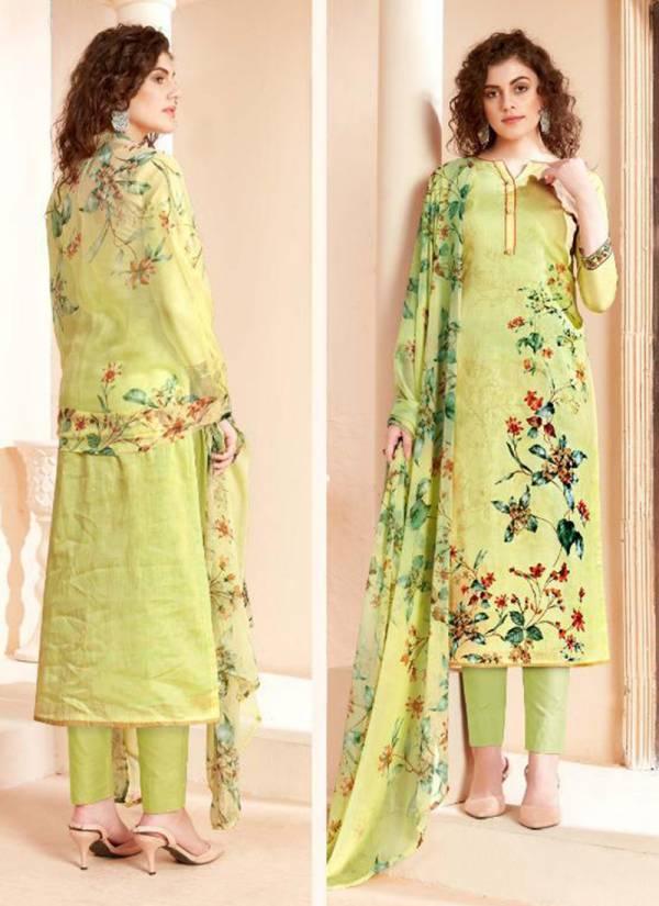 Winter Series 200 001-200 008 Pure Pashmina Designer Print Regular Wear Suits Collection