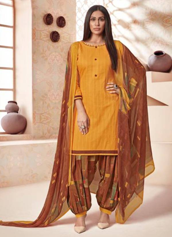 Suryajyoti Paneree Paiyala Vol 17 Series 17001-17010 Dobby Cambric Trendy Look Daily Wear Suits Collection