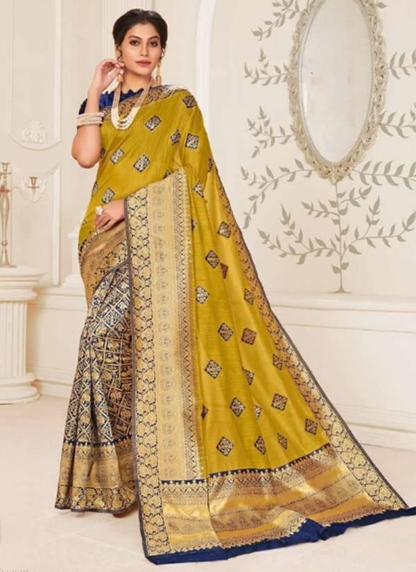 Saroj Panghat Series 1001-1006 PXC Cotton Silk With Rich Pallu Designer Party Wear Sarees Collection