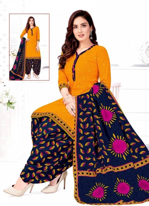 Shree Ganesh Pankhi Vol 1 Series 6201-6212 Cotton Patiyala Suits Collection