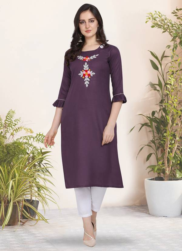 Pari Vol 2 Cotton With Hand Work And Buttons Stylish Look Kurti Collection KVSKR7069RT-KVSKR7082RT