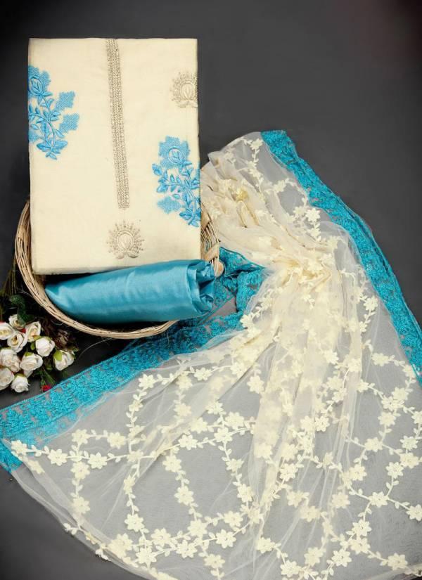 Phillauri Vol 18 Kesari Exports Series 1801-1804 Latest Designer Chanderi Non Catalog Suits Collection