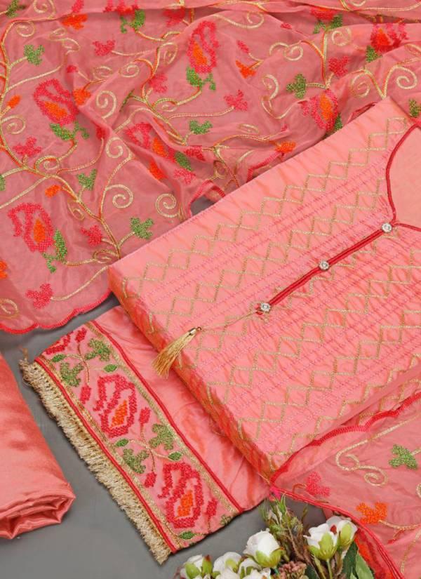 Phillauri Vol 20 Kesari Exports Series 2001-2004 Festival Wear Designer Chanderi Salwar Suits Collection