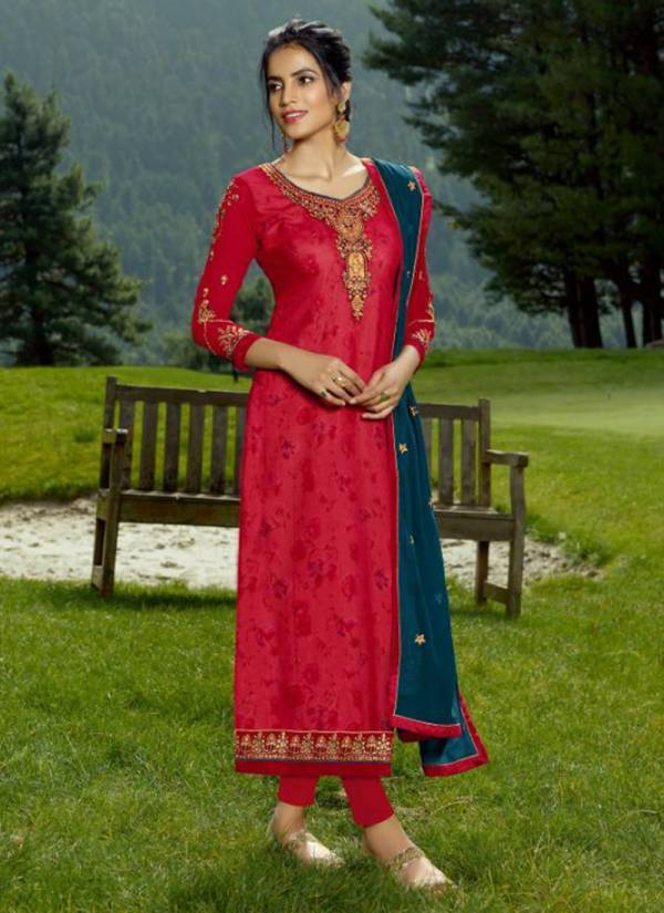 RSF Rolex Vol 9 Series 17401-17408 Georgette Long With Hand Work Stylish Kitty Party Wear Suits Collection