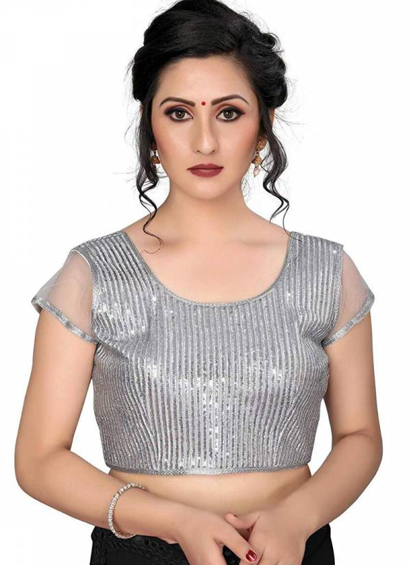 Ruhi Fashion Series S1-S3 Silk Trendy Look Party Wear Sequence Work Readymade Blouse Collection