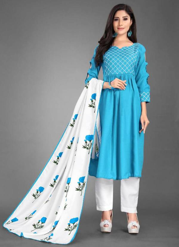 Niksha Fashion Rutbakhan 02 Series 101-105 Heavy Cotton Readymade Suits & Kurti Collection