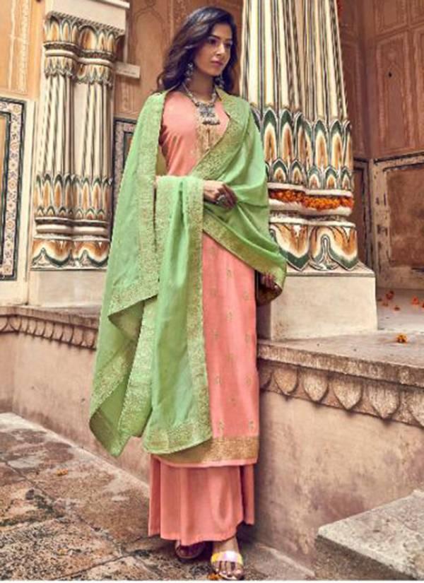 Ibiza Saba Series 653-660 Pure Silk Weaving Jacquard Festival Wear Salwar Suits Collection