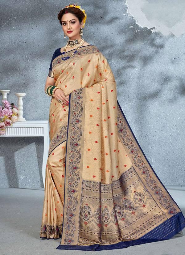 Takshaya Sahiba Series A-F New Designer Brocade Art Silk Festival Wear Sarees Collection
