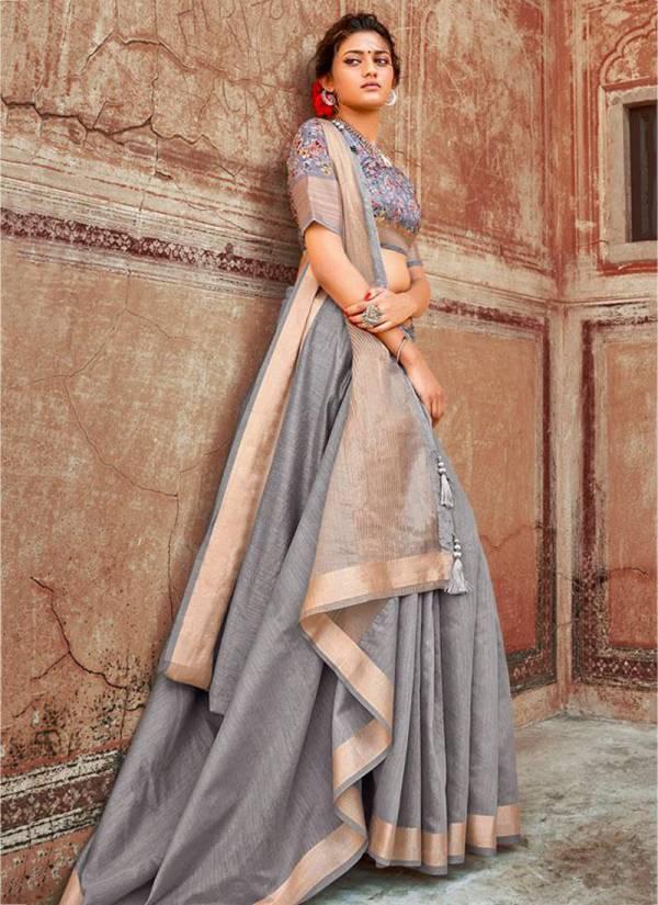 Lifestyle Sarbati Series 68841-68846 Chanderi Gala Fancy Design Sarees Collection