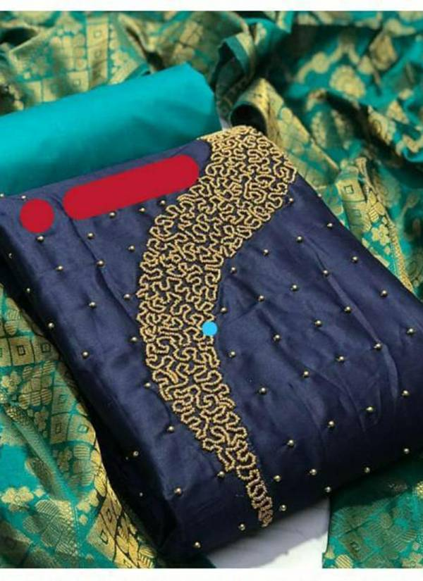 Shree Bherav Suits Series N1-N4 Semi Model Stylish Hand Work Non Catalog Salwar Suits Collection