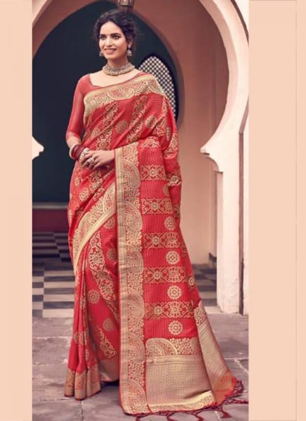 Ardhangini-Silk-Series-301-309-Silk-Banarsi-saree-with-latkan-Wedding-Wear-Saree-Collection