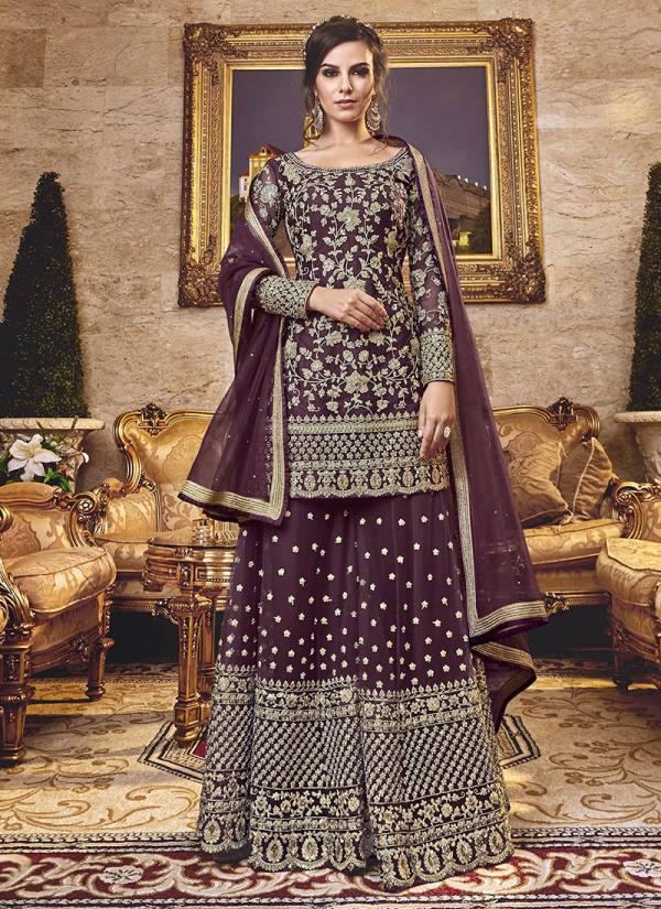 Snowwhite Fancy Net & Silk Top Santoon Bottom With Stylish Net Dupatta Party & Wedding Wear Suits Collection 6301-6312