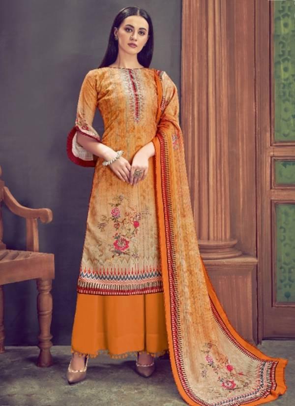Alok Suit Suhani Series 501001-501010 Pure Wool Pashmina Digital Print With Swarovski Diamond Work Regular Wear Salwar Suit Collection