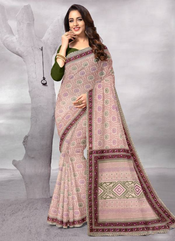 Deeptex Summer Vol 1 Series 1001-1010 Pure Cotton Printed Work Fancy Look Sarees Collection