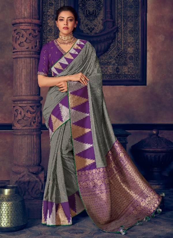 Kimora Sunehri Vol 13 Series 1313-1318 Latest New Designer Fantasy Silk Party Wear Sarees Collection
