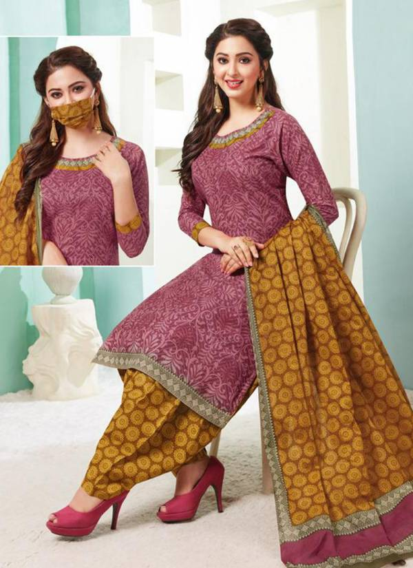Aarvi Super Patiyala Vol 2 Series 4841-4850 New Daily Wear Cambric Cotton Patiyala Suits Collection