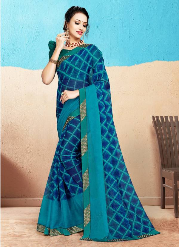 Take Off Fancy Chiffon Printed Sarees Collection 1954-1961