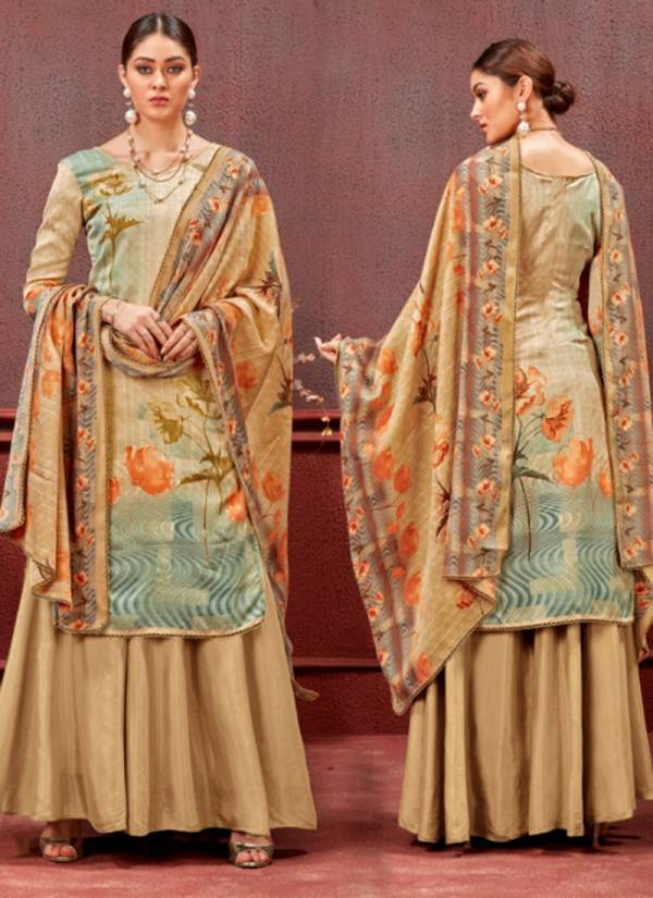 Sweety Fashion Topaz Series 1001-1008 Pashmina Dobby With Digital Printed Casual Wear Fancy Salwar Suit Collection