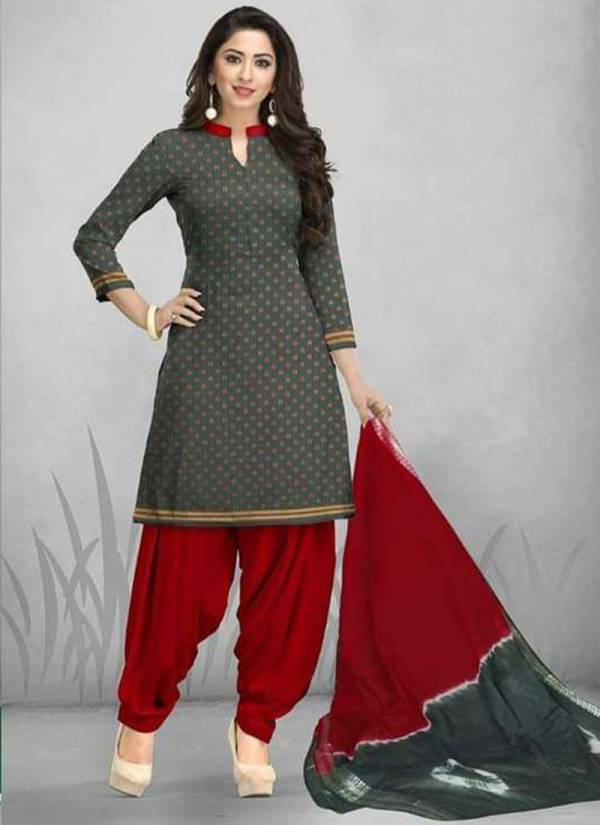 Deeptex Tradition Vol 6 Series 6001-6010 Stylish Look Premium Cotton Daily Wear Salwar Suits Collection