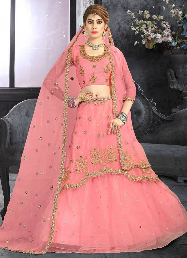 Latest Ner Zari And Sequins Work Party Wear Lehenga Choli Collection TRSH40001-TRSH40006