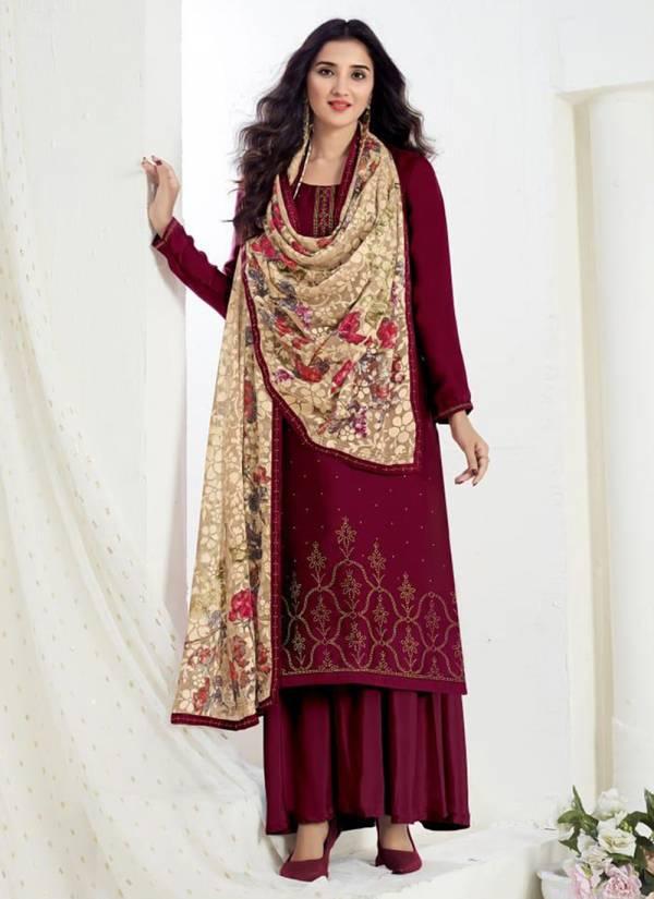 Fiona Ujjwala Series 22891-22894 Satin Georgette With Designer Swarovski Work Stylish Festival Wear Salwar Suit Coection