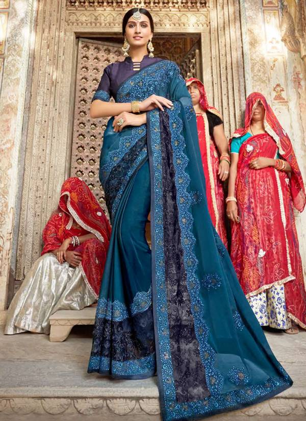 Kalista Fashion Utsav Series 34281-34288 Rangoli Silk With Fancy Embroidery Work Exclusive Sarees Collection