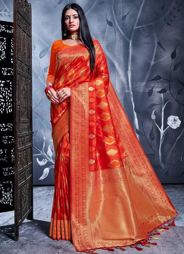 Vellora Vol 16 Kesari Exports Series 2601-2601 Latest Party Wear Rich Banarasi Silk Sarees Collection