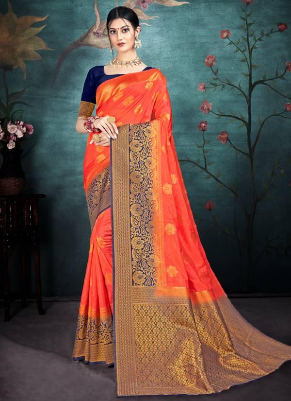 Kesari Exports Vellora Vol 17 New Designer Wedding Wear Naylon Silk Sarees Collection