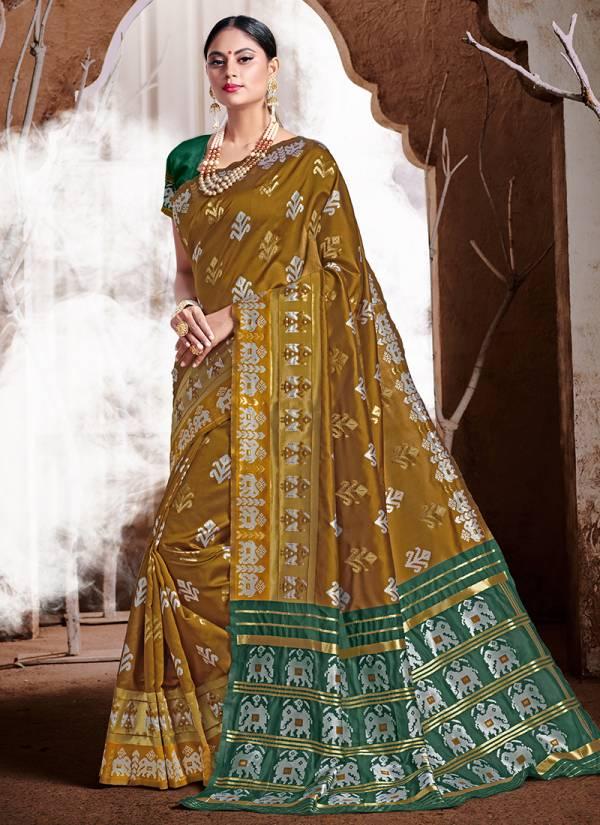 Vellora Vol 18 Kesari Exports Series 2801-2806 Banarasi Silk Party Wear Sarees Collection