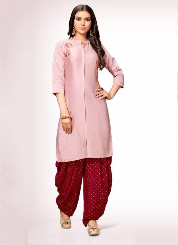 Channel 9 Yukta Series 1001-1003 Jam Satin With Fancy Embroidery Work Kurti & Patiyala Collection