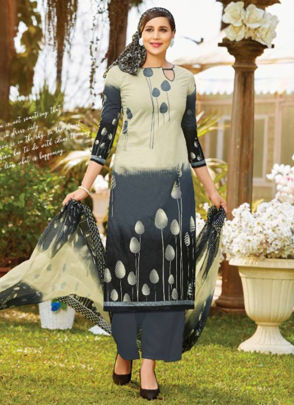 Zahira Pure Super Cotton Printed Top And Bottom With Exclusive Printed Chiffon Dupatta Collection 3013-3022