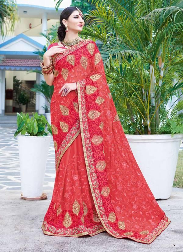 Kalista Fashion Zara Series 44441-44448 Rangoli & Sana Silk Wedding & Party Wear Stylish Sarees Collection