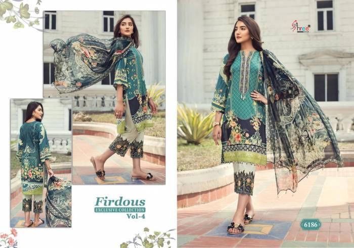 Shree Fabs Firdous Exclusive Collection 6185